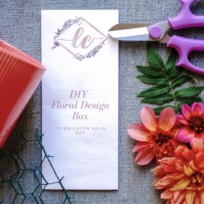 DIY Floral Design Box (Oct 1 - Oct 2, 2020)