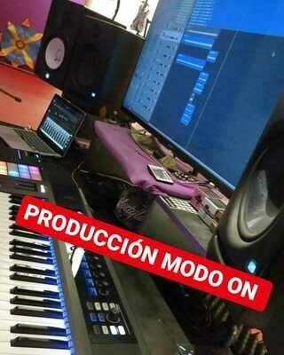 Producción Musical paquete 1 incluye productor o ingeniero durante 5 horas de turno