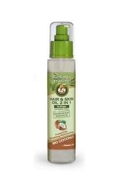 Coconut Hair & Skin Oil 2 in 1 120ml
