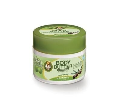 Body Butter Natural (+ Pomegranate, Avocado & Coconut) 200ml