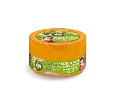 Face & Nose Cover Cream Aloe Vera SPF 30′ 75ml