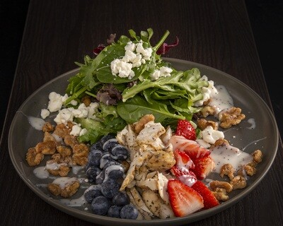 Chicken Berry Salad W/ Poppyseed Dressing