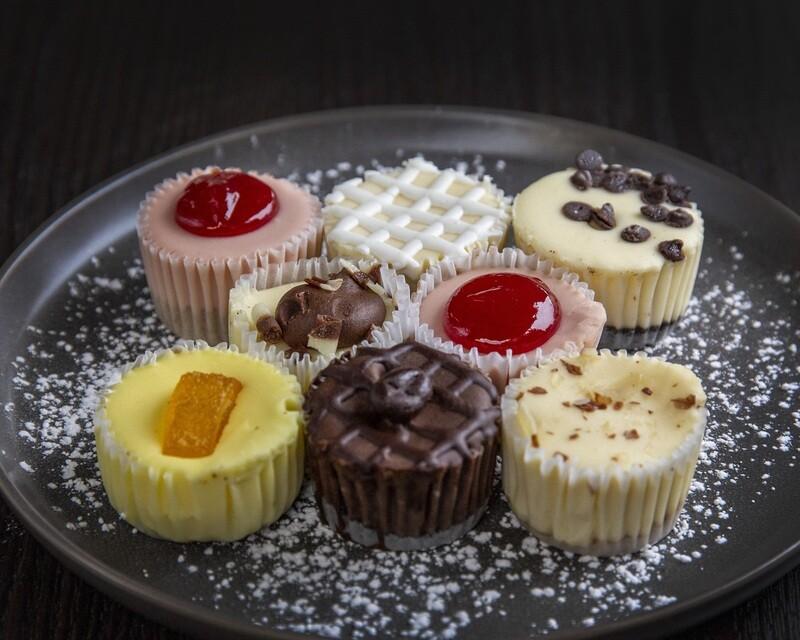 Assorted Mini Cheesecakes