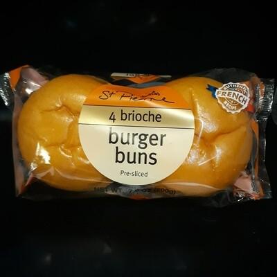 St Pierre Brioche Burger Bun