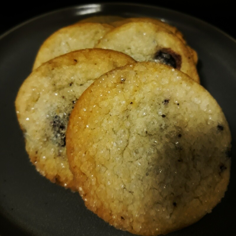 Lemon Blueberry Cookie