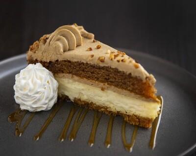 Sweet Potato Maple Cheesecake