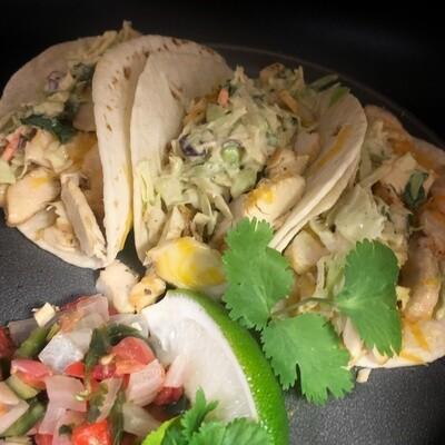 Southwest Chicken Street Taco