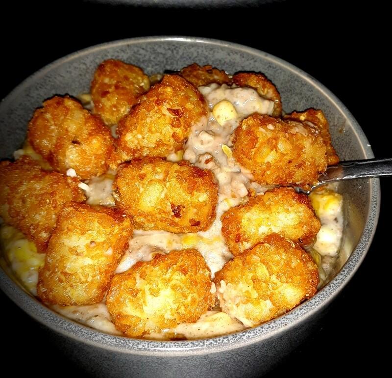 Family Tator Tot Hot Dish