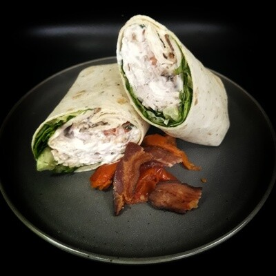Turkey Bacon Ranch Wrap