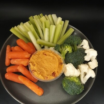Vegetable And Hummus Snack Pack