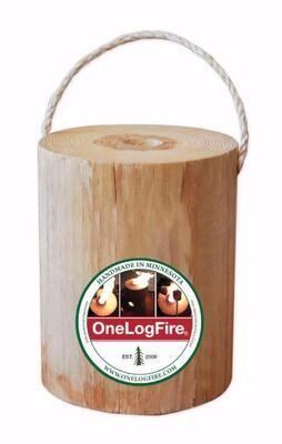 Mini One Log Fire