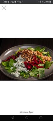 Minnesota Salad W/ Apple Cider Vinaigrette