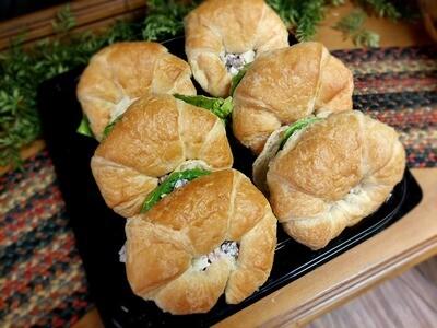 Chicken Waldorf Croissant Tray
