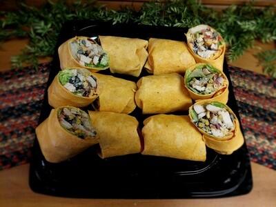 Chicken Fiesta Wrap Tray