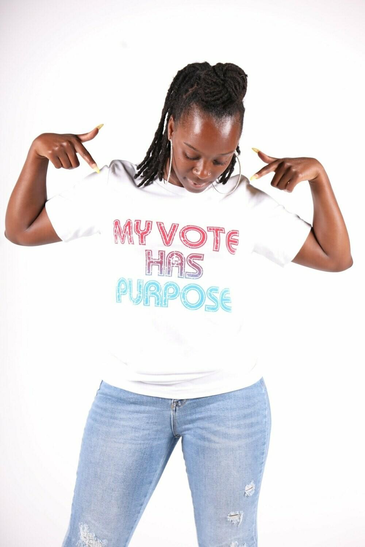 My Vote Has Purpose (Adult Shirt)