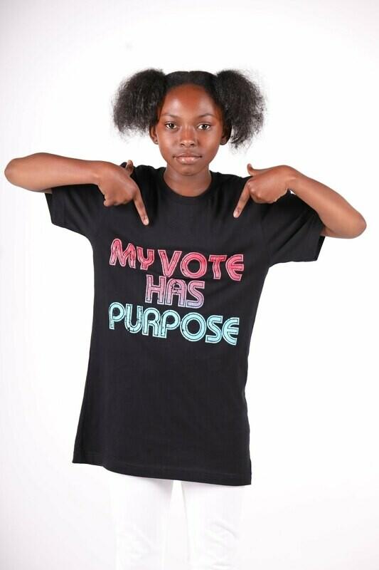 My Vote Has Purpose (Kid Shirt)