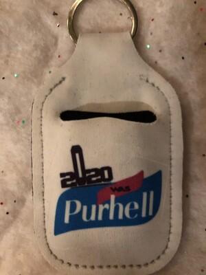 2020 was Purhell -Keychain Hand Sanitizer Holder