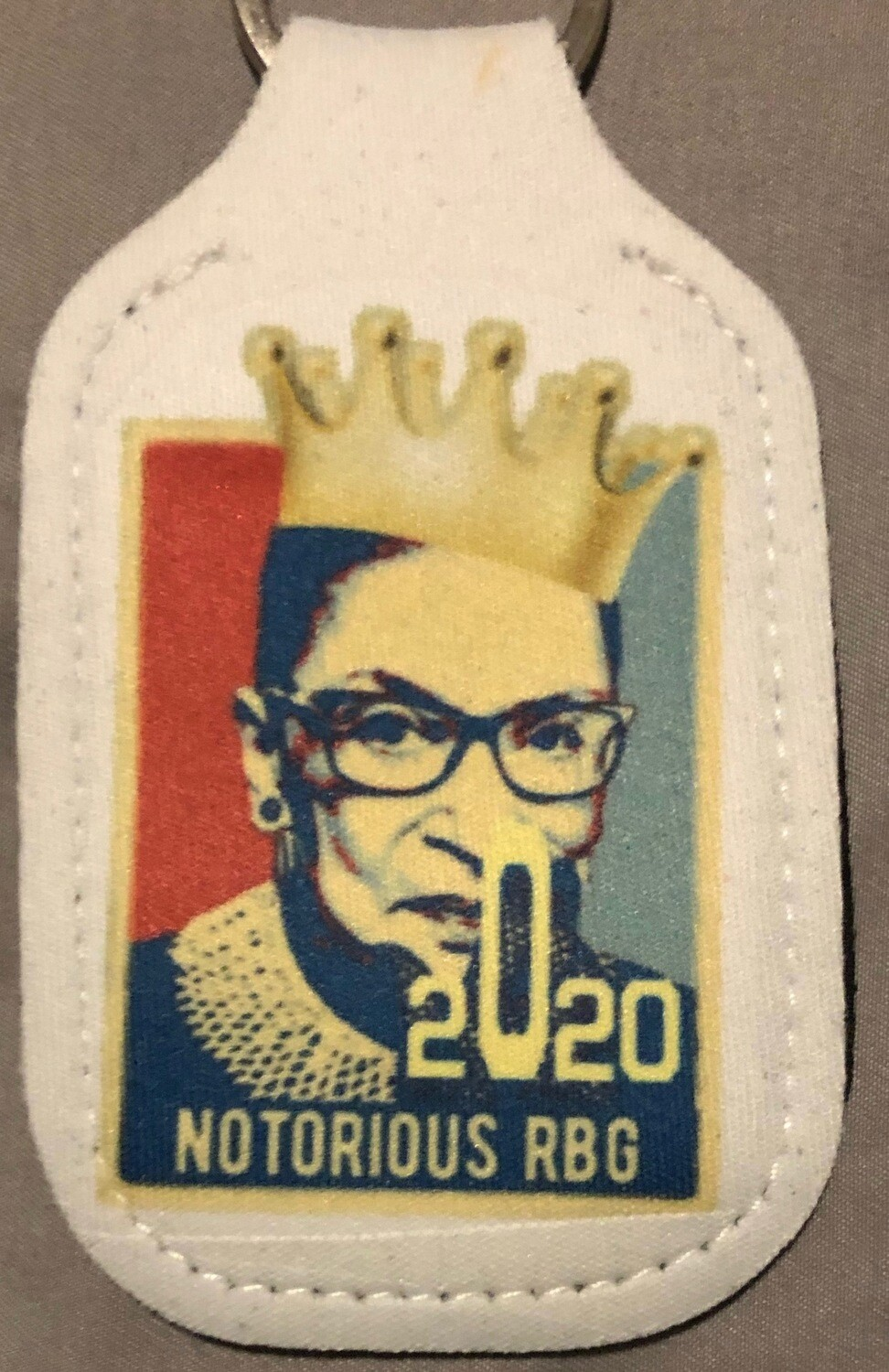 Notorious RBG 2020-Hand Sanitizer Keychain
