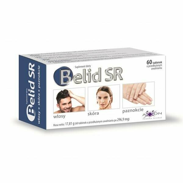 Axxon Belid SR, 60 tabletek o przedłużonym uwalnianiu