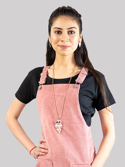 ZYIO Women Pink Dungaree