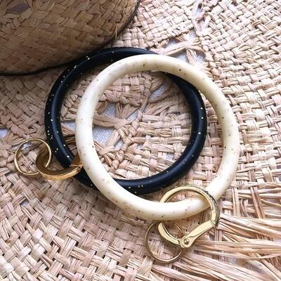 Silicone Keychain Bracelet