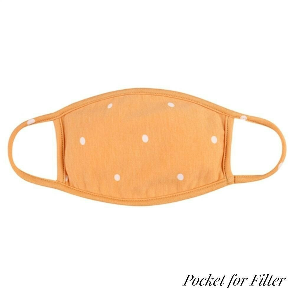 Adult Face Mask (With Filter Pocket)