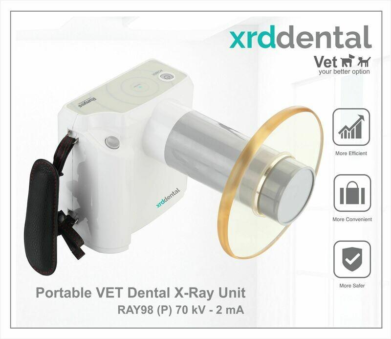 RAY98 (P) Portable Vet Dental X-Ray