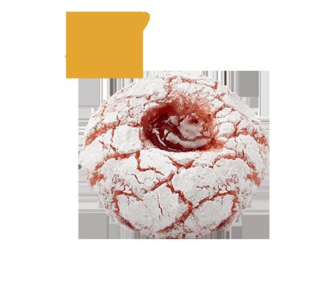 PÂTE D'AMANDE ET FRUITS Rouge