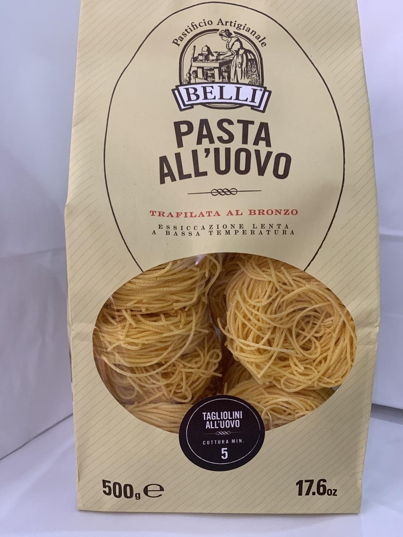 Pâtes frais, Tagliolini,AUX OEUFS DE QUALITÉ SUPÉRIEURE