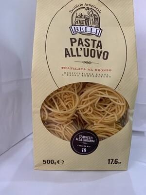 Pâtes frais, Spaghetti, AUX OEUFS DE QUALITÉ SUPÉRIEURE