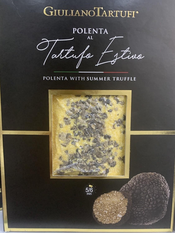 Polenta au truffe noire