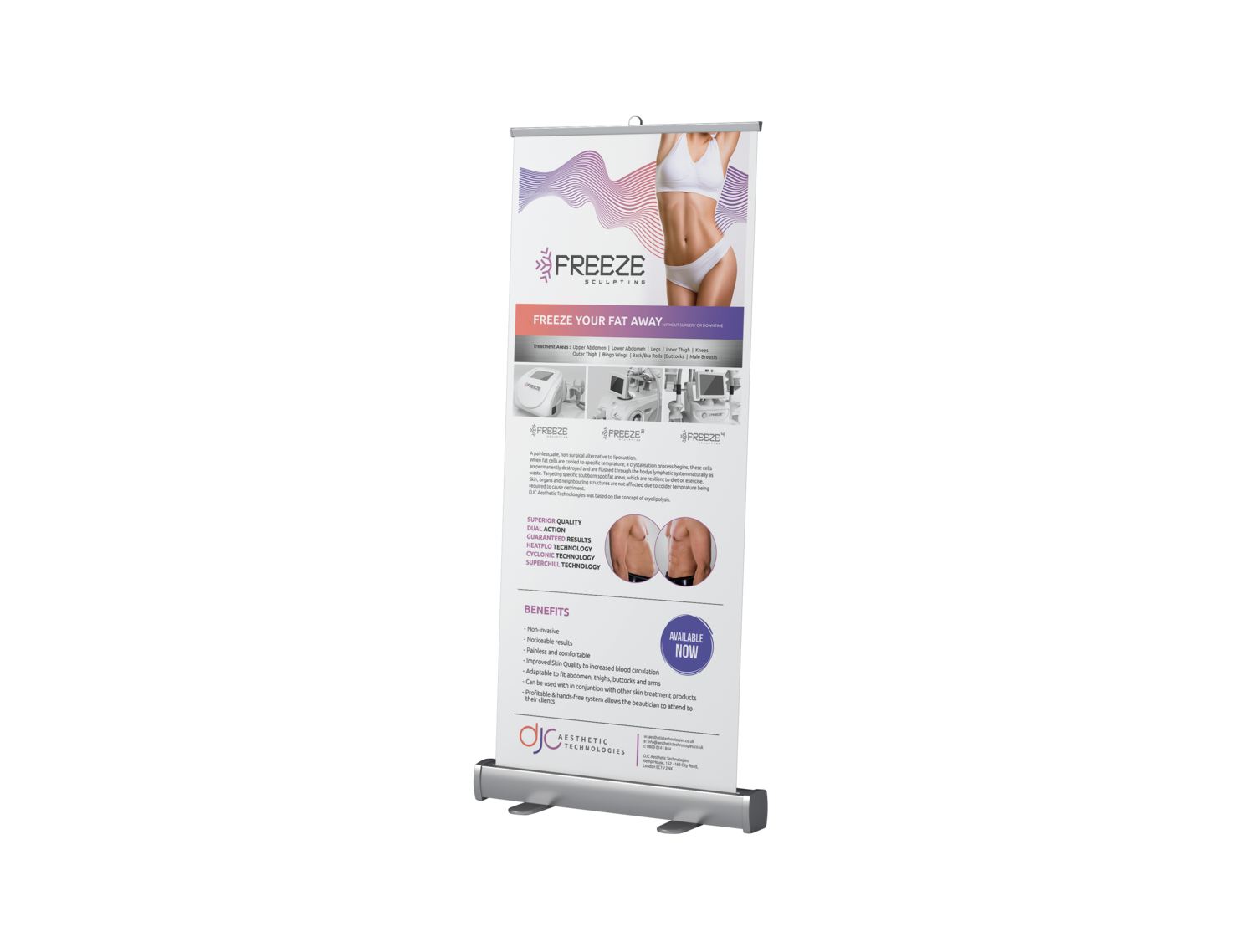 Freeze Sculpting - Roller Banner