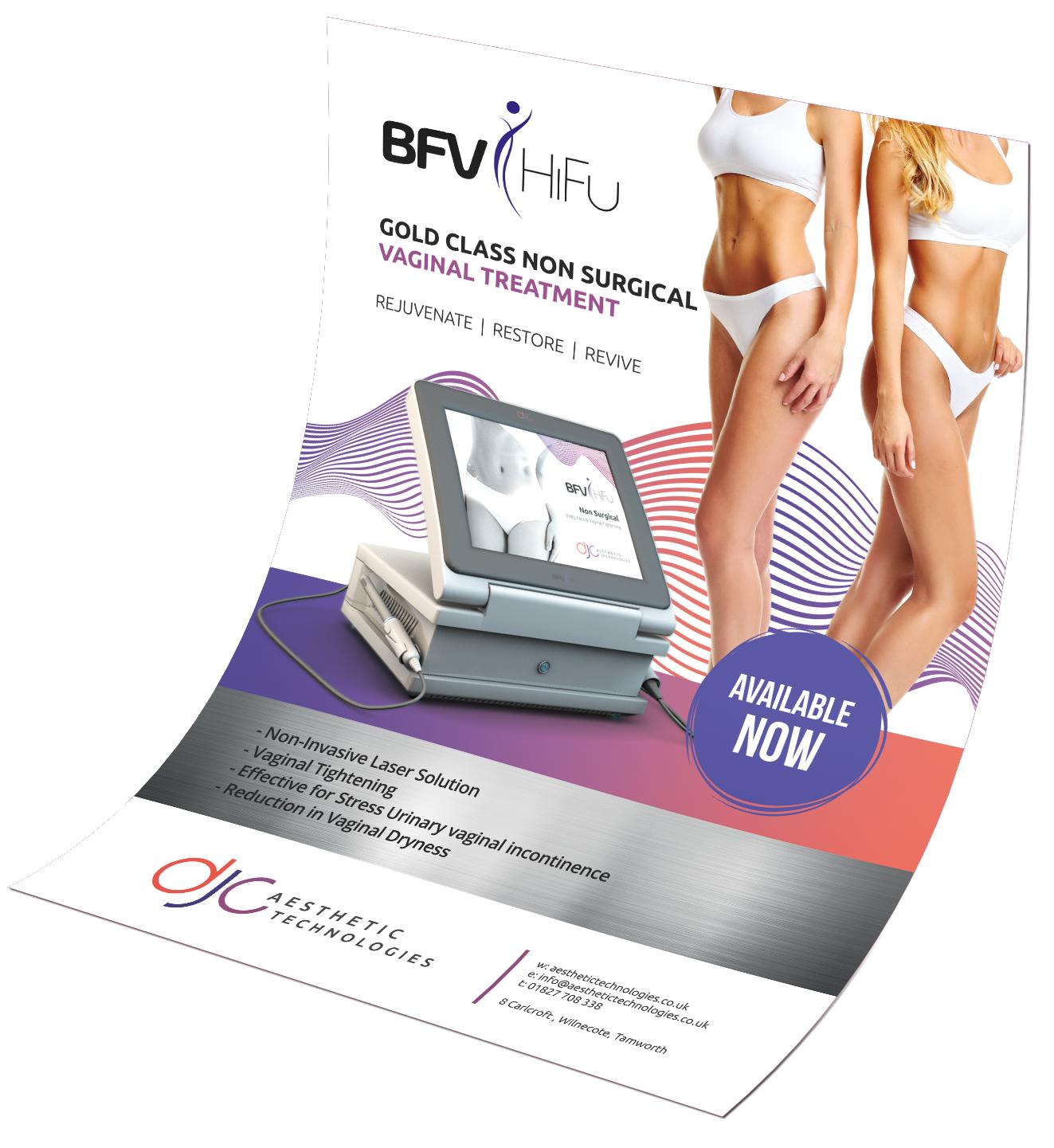 BFV (Vaginal) HiFu A2 Poster