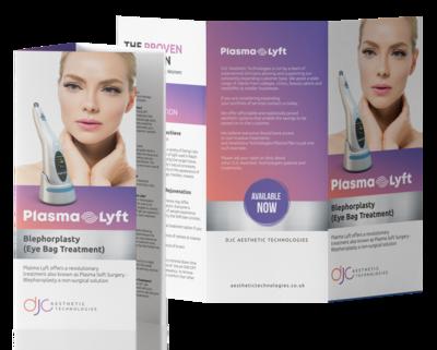 100 x Plasma Lyft Treatment Leaflets