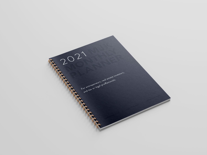 2021 MJK Monthly Planner