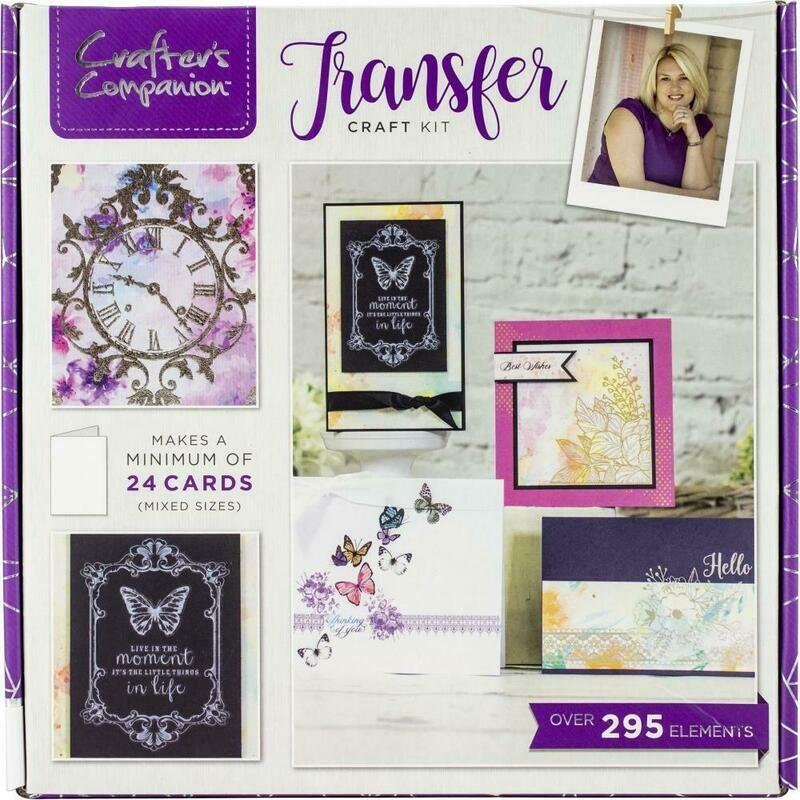 Card Transfer Craft Box Kit
