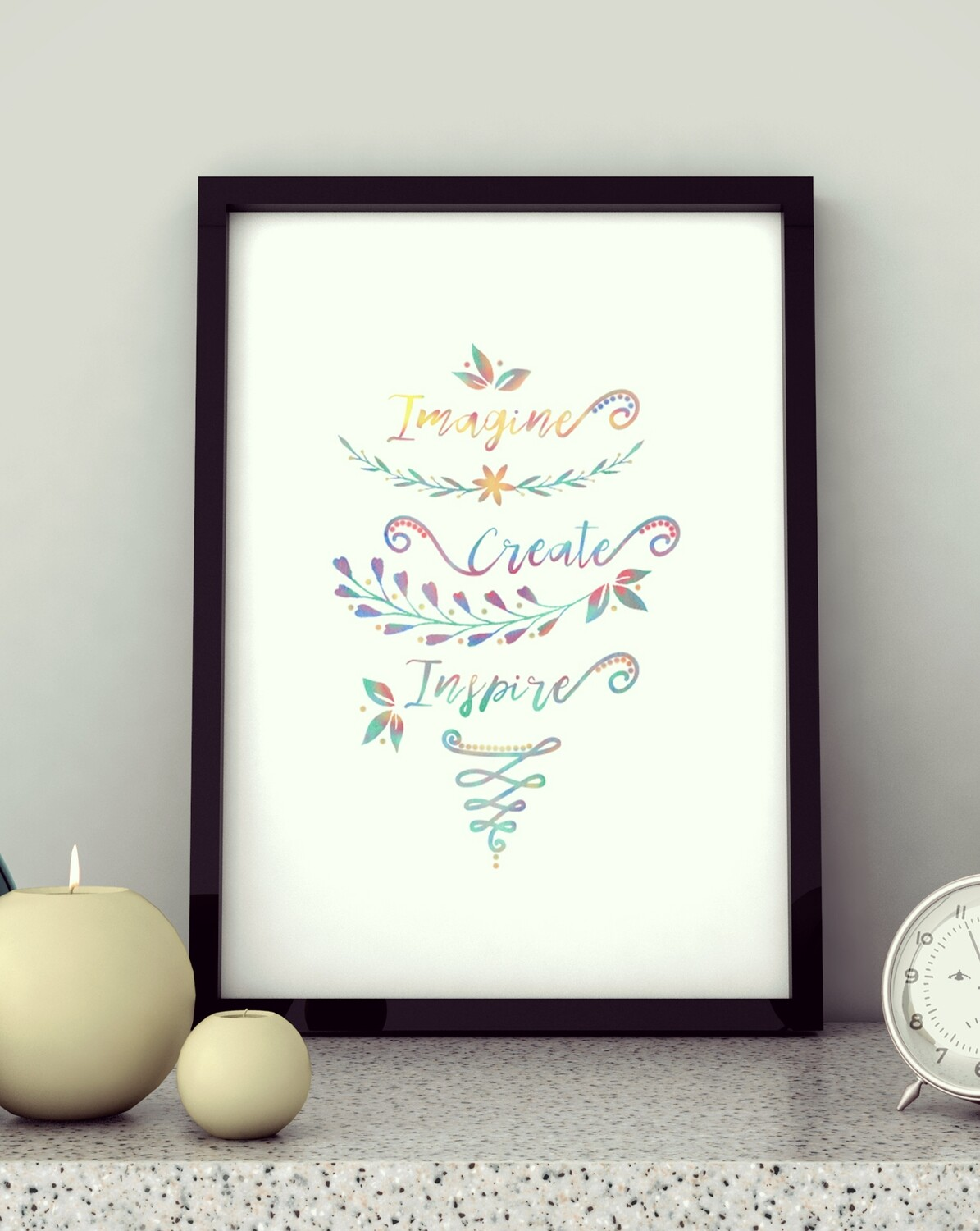 Craft Night - Watercolor Calligraphy Kit
