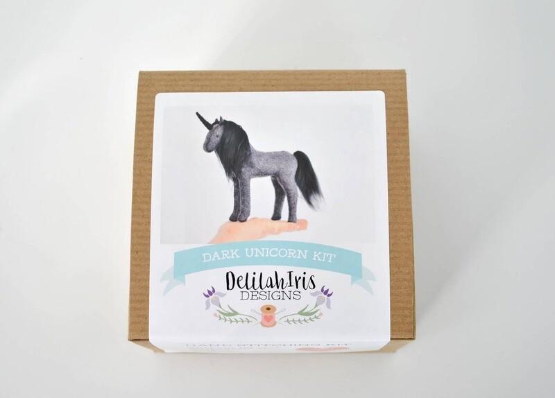 Dark Unicorn Sewing Craft Kit (ages 9+)