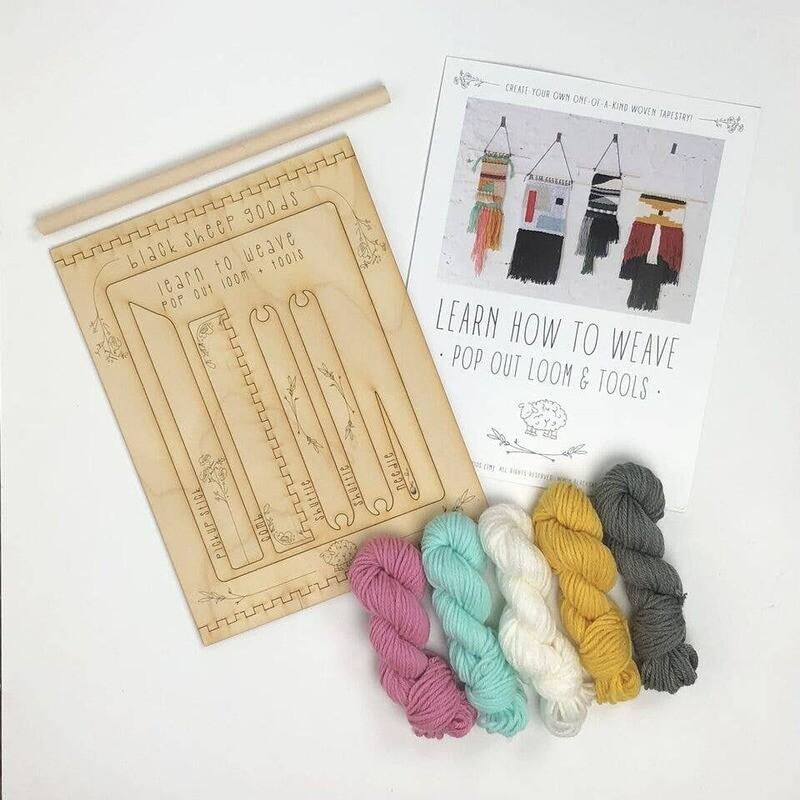 DIY Tapestry Weaving Kit- Unicorn