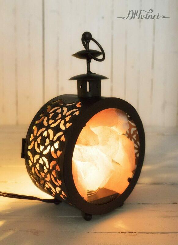 DIY Himalayan Salt Lamp