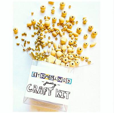 Etymology Bead Necklace Jewelry Kit