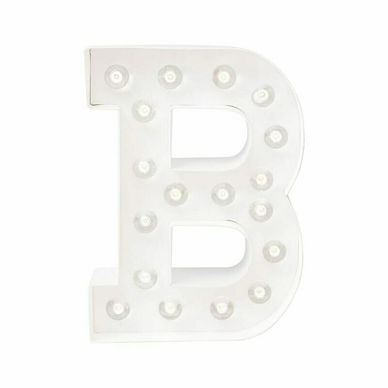 Heidi Swapp™ DIY Marquee Letter Kit - B - White - 8 inches