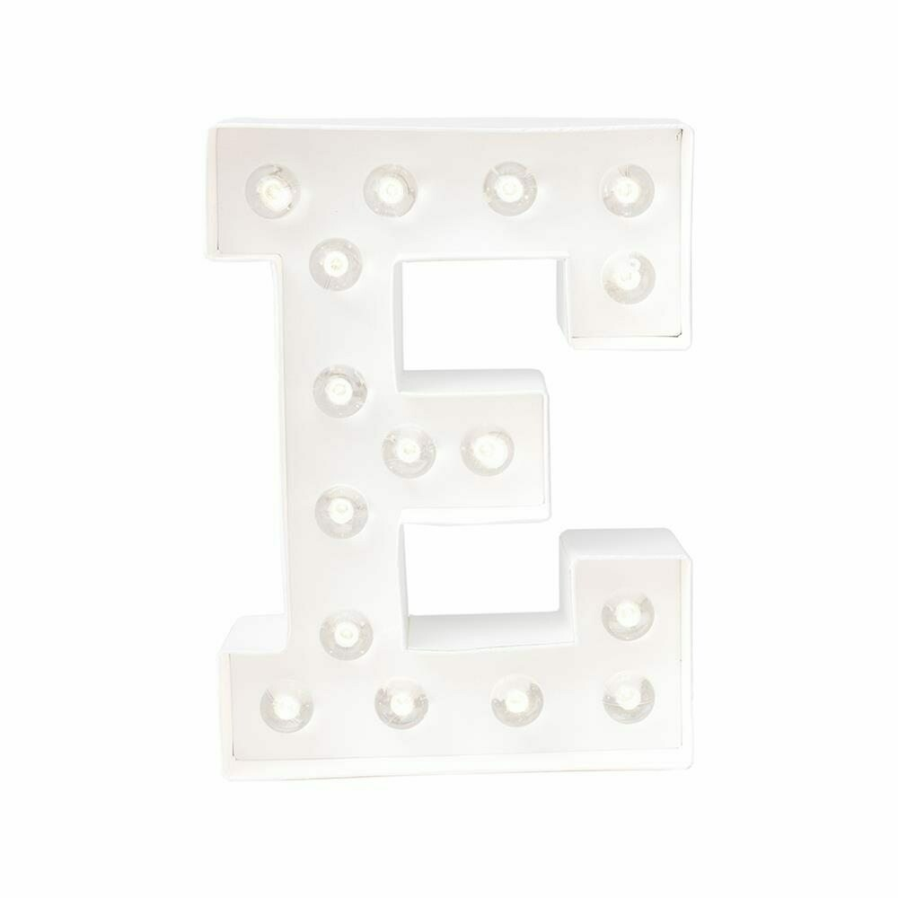 Heidi Swapp™ DIY Marquee Letter Kit - E - White - 8 inches