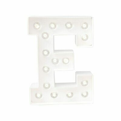 Heidi Swapp™ DIY Marquee Letter Kit - E - White - 8 inches