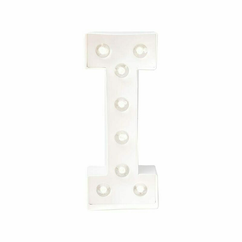 Heidi Swapp™ DIY Marquee Letter Kit - I - White - 8 inches