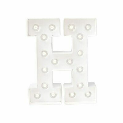 Heidi Swapp™ DIY Marquee Letter Kit - H - White - 8 inches