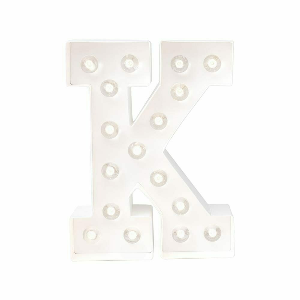 Heidi Swapp™ DIY Marquee Letter Kit - K- White - 8 inches