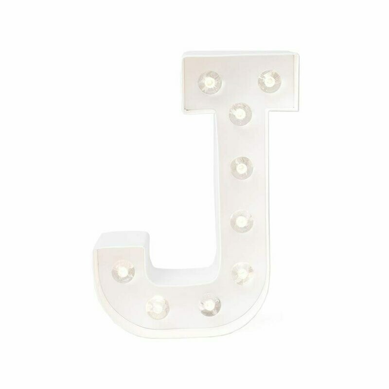 Heidi Swapp™ DIY Marquee Letter Kit - J - White - 8 inches
