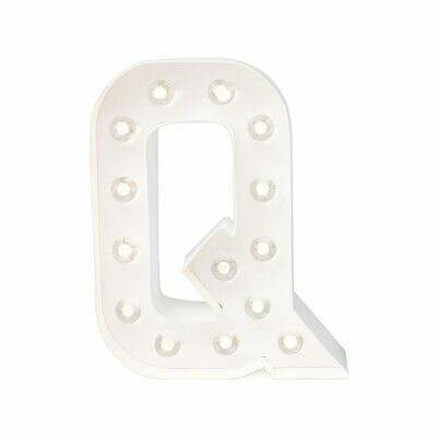 Heidi Swapp™ DIY Marquee Letter Kit - Q - White - 8 inches
