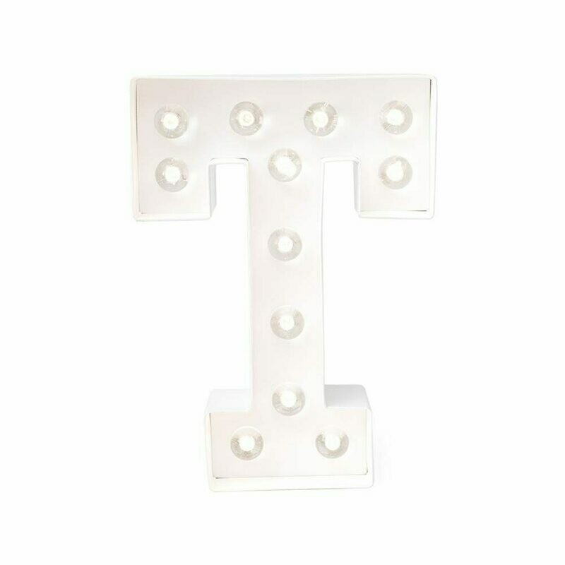 Heidi Swapp™ DIY Marquee Letter Kit - T - White - 8 inches